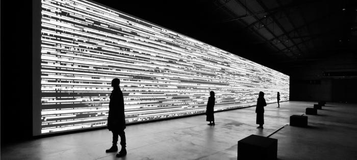 爱彼特别艺术项目鼎力支持知名电子乐作曲家兼视觉艺术家池田亮司(RYOJI IKEDA)全新艺术作品 亮相第58届威尼斯国际艺术双年展