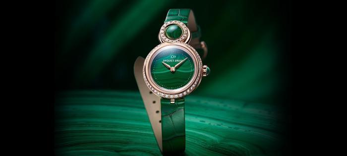 【Time to Move】别致优雅:雅克德罗(Jaquet Droz)呈献两款全新 优雅8系列PETITE女士腕表