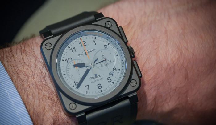 柏莱士Bell & Ross BR 03-94 Rafale阵风战机腕表——腕上的航空科技!
