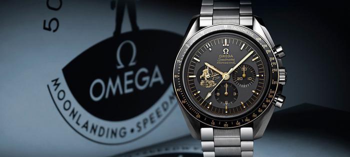 """【Time to Move】欧米茄超霸系列""""阿波罗11号""""50周年纪念限量版腕表"""
