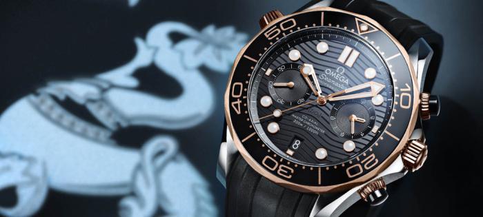 【Time to Move】欧米茄海马系列300米潜水计时表