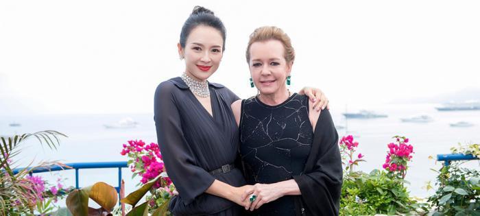 章子怡出任Chopard萧邦全球品牌大使 卡罗琳·舍费尔在戛纳电影节期间举办盛大晚宴, 隆重宣布新任全球品牌大使