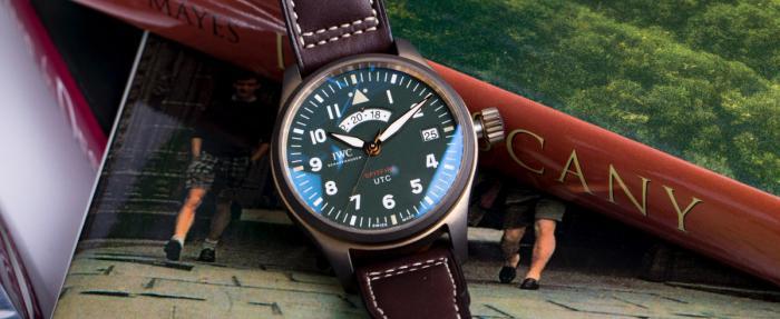 """独家点评喷火战机飞行员UTC世界标准时间腕表IW327101 """"MJ271""""特别版"""