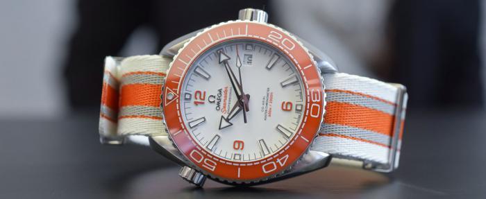 """我""""橙汉三""""又回来了——欧米茄海马系列海洋宇宙600M腕表"""