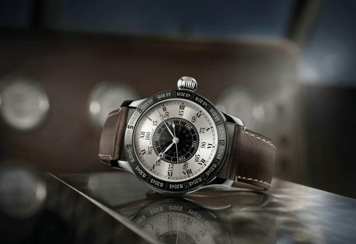 浪琴L2.678.1.71.0连拔时间角度90周年限量款腕表——向飞跃大西洋的壮举致敬!