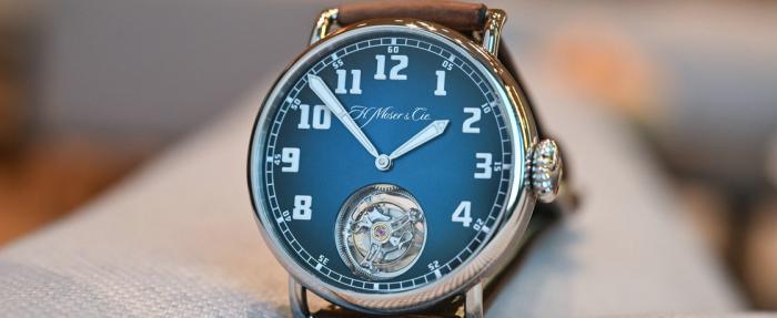 时间线好像倒过来了——亨利慕时Heritage Tourbillon腕表