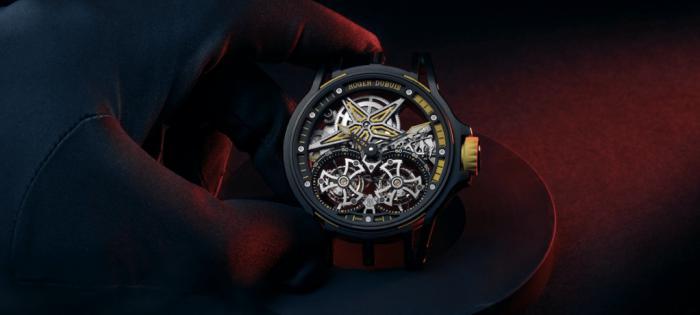 罗杰.杜彼再度与倍耐力合作推出两款全新Excalibur系列手表