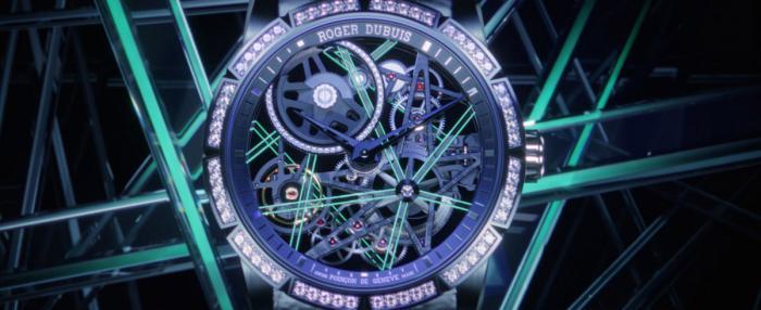 散发星辰般的夜光,Roger Dubuis罗杰杜彼发布Excalibur王者系列Blacklight腕表