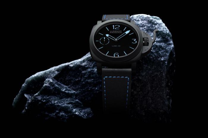 沛纳海Luminor 1950系列3日动力储存碳纤维腕表——尖端科技的力作!