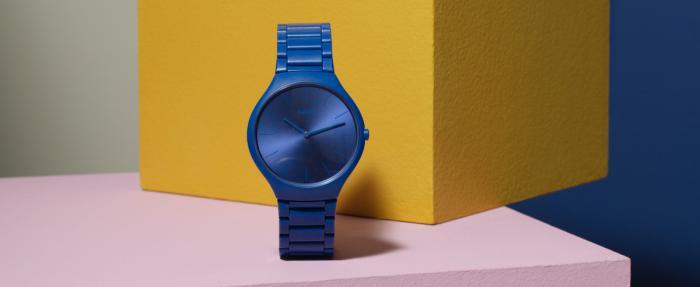 RADO瑞士雷达表真薄系列幻彩高科技陶瓷限量版腕表 — 携手勒·柯布西耶基金会旗下瑞士色彩研究机构 Les Couleurs ™联合打造