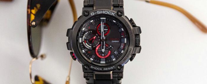 潮男靓女必备——卡西欧G-Shock系列MTGB1000B-1A腕表