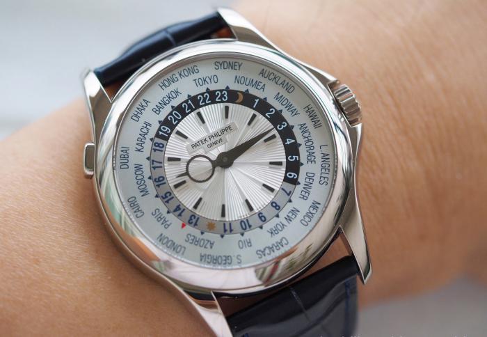百达翡丽WolrdTime世界时手表5130——最优雅的世界时!
