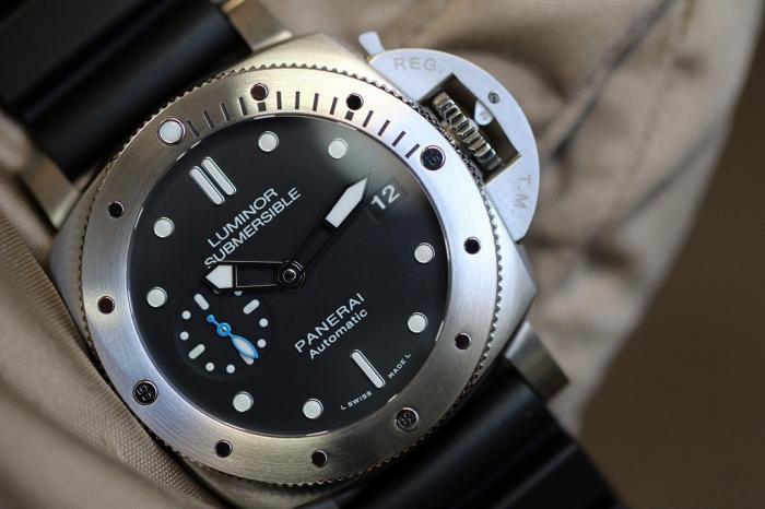 沛纳海Luminor 1950系列3日链PAM00682潜水腕表——简单实用的潜水工具时计!