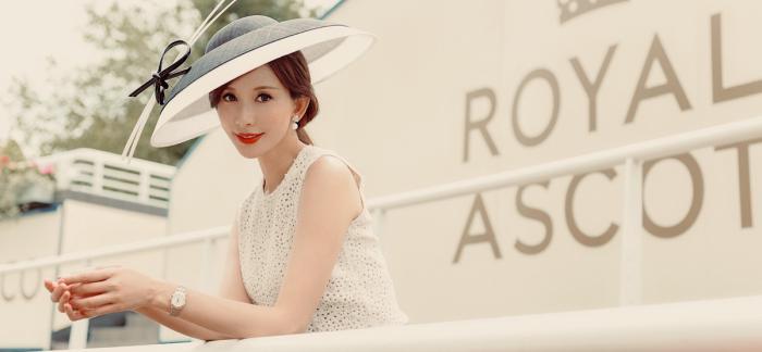 浪琴表优雅呈现皇家阿斯科特赛马会,开创者系列陪伴林志玲体验英伦赛马盛事