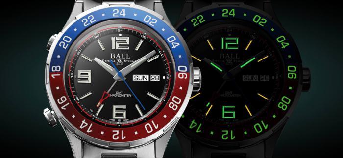 独家点评BALL波尔表全新Roadmaster Marine GMT腕表