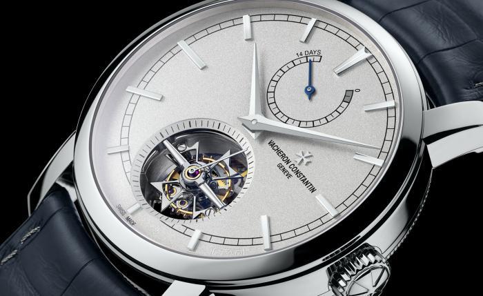 江诗丹顿传承系列14天长动力陀飞轮腕表——实用的全能王者!