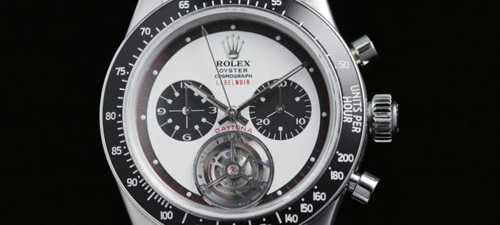 Label Noir 推出改制版 Rolex Daytona Tourbillon 迪通拿陀飞轮腕表