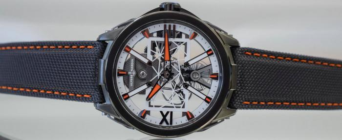 穿戴外骨骼——雅典Exo-Skeleton X Only Watch 2019特别版腕表