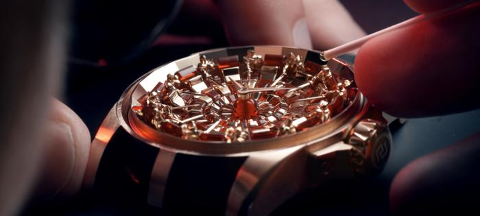 Roger Dubuis罗杰杜彼永恒的骑士精神——Excalibur Knights of the Round Table IV圆桌骑士腕表