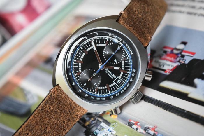 豪利时威廉姆斯车队40周年限量版腕表——铭记风驰电掣的历史!