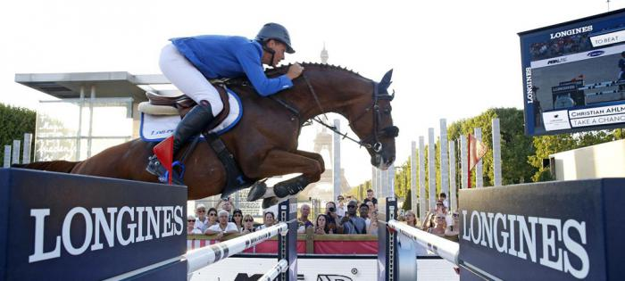 浪琴表世界冠军巡回赛法国巴黎站