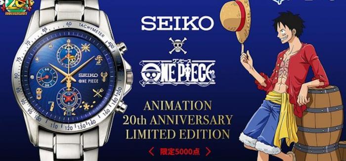 精工联动《海贼王》推出20周年纪念主题腕表