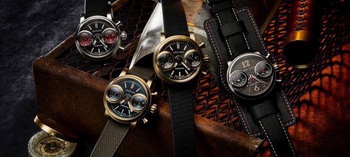 颠覆设计的Graham 格林汉姆Swordfish腕表
