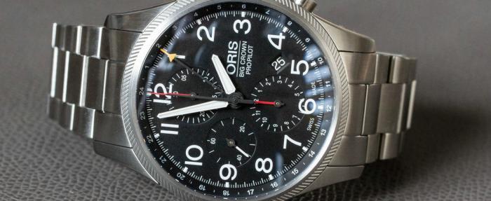 最稀有的豪利时(之一)——豪利时大表冠ProPilot GMT计时码表