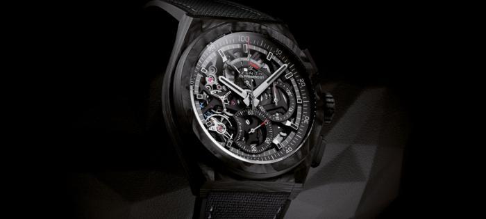溯源未来 由此可见——ZENITH真力时发布DEFY EL PRIMERO 21 碳纤维腕表,全球品牌代言人陈奕迅全情演绎酷黑风范