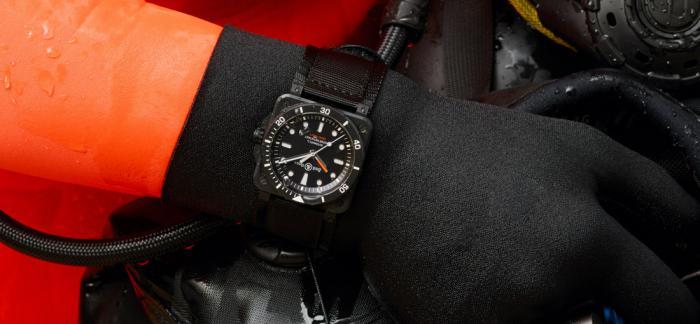 柏莱士BR03 DIVER系列黑色陶瓷潜水表-献给专业人士的专业腕表