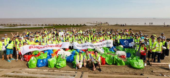 海洋子民今日的践行—豪利时清洁海洋行动