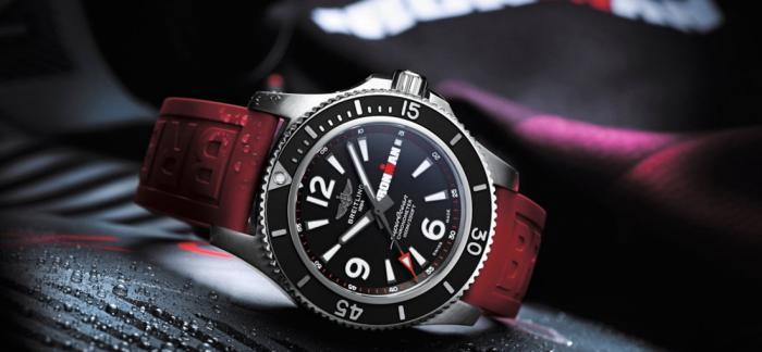 百年灵将与Ironman合作推出新款腕表-超级海洋自动机械腕44毫米铁人三项限量版量版