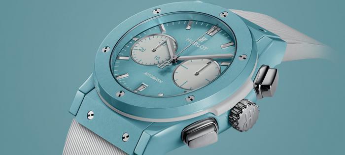 宇舶以卡普里岛屿为灵感的全新限量计时腕表