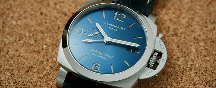 """天赋树点歪了的""""PAM""""——沛纳海Luminor PAM1033 GMT腕表"""