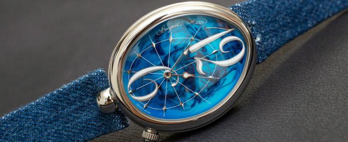 钟表界中的女王——宝玑那不勒斯王后系列腕表