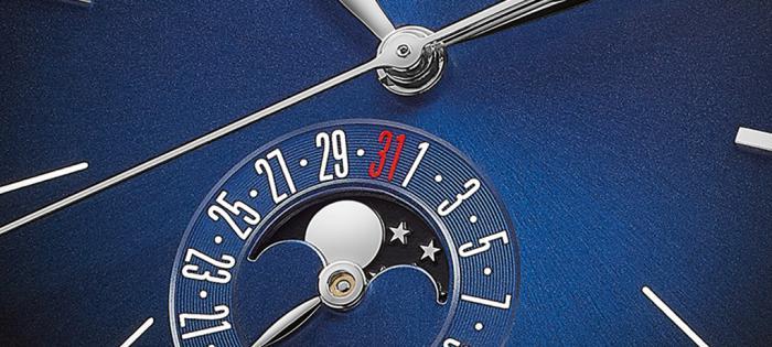 GP芝柏表荣推1966系列Blue Moon腕表