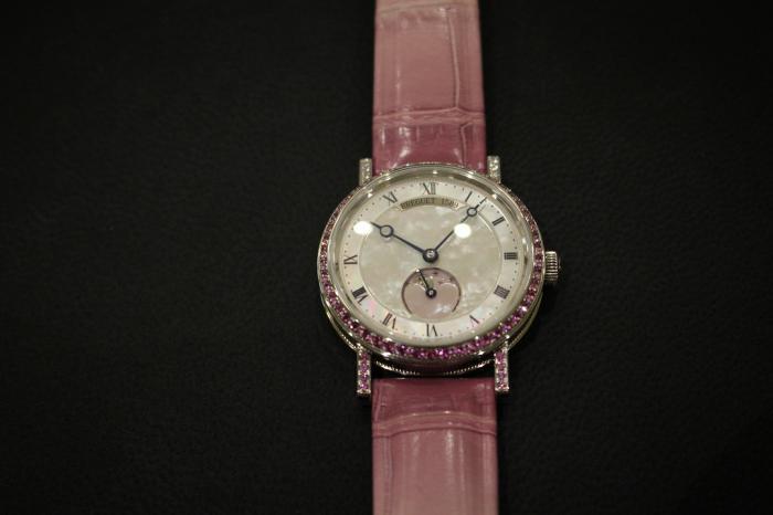 宝玑限量Classique经典系列女性腕表——粉红色的少女心!