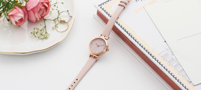 法式优雅的五种打开方式,尽在ELLE秋冬时尚腕表