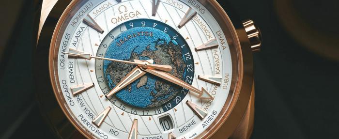 烧出来的世界时——欧米茄海马系列Auqa Terra世界时腕表