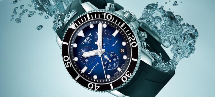 天梭海星潜水1000系列石英款腕表