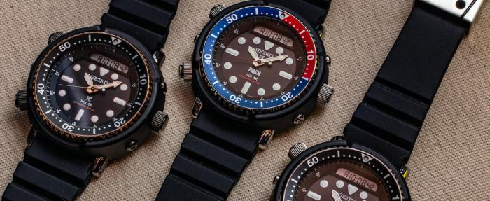 独闯龙潭的经典回归——精工Prospex系列'Arnie' SNJ025 & SNJ027腕表