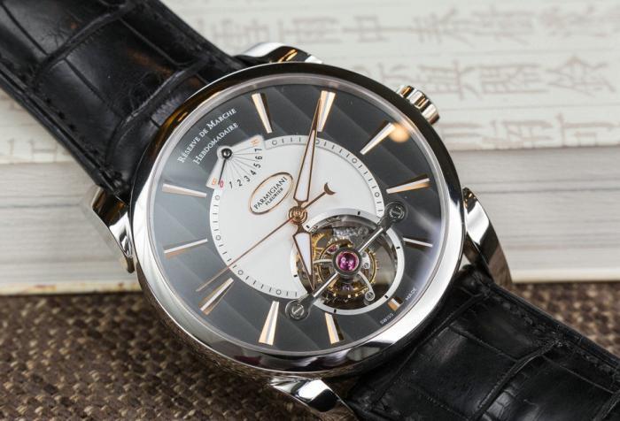 帕玛强尼TONDA系列TOURBILLON陀飞轮手表——充满魅力的古典韵味!