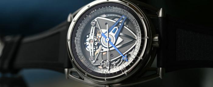 这款潜水表有点儿不一样——De Bethune DB28GS Grand Bleu腕表