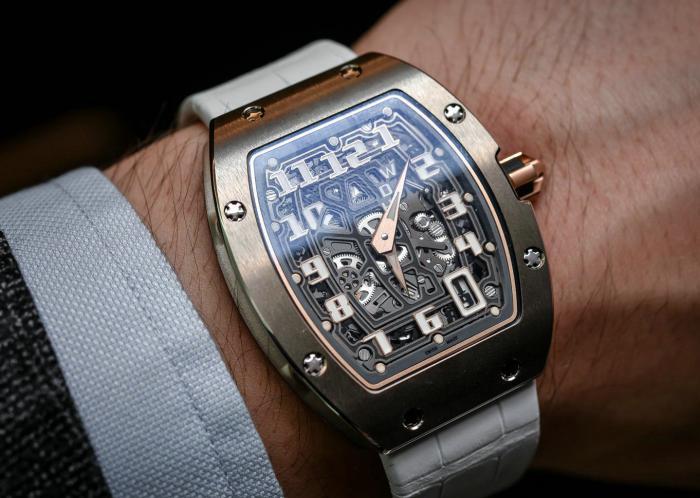 理查德米勒RM 67-01自动超薄腕表——大胆又优雅的新RM!