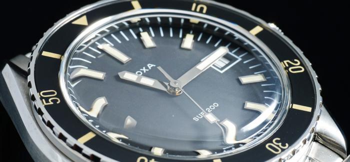 全新发行的Doxa时度SUB 200钢款腕表是2019年最值得入手的腕表之一