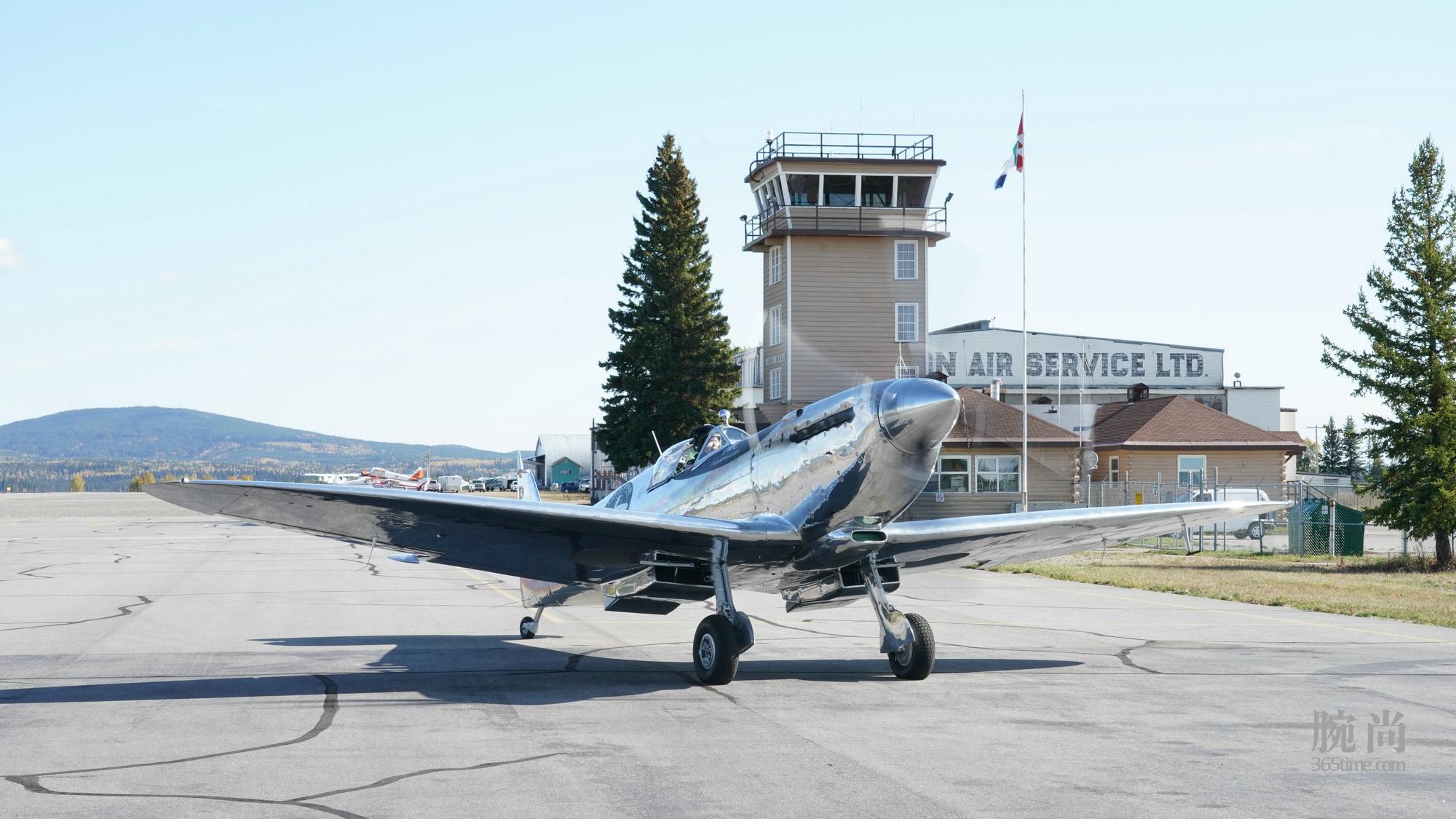 """3. IWC万国表""""银翼喷火战斗机之最长的飞行"""":提前抵达阿拉斯加.jpg"""