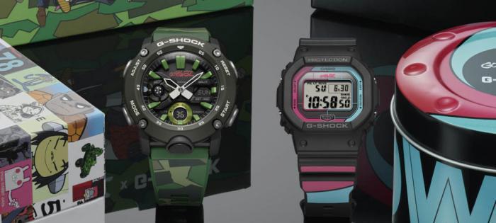 G-SHOCK再度携手知名虚拟乐团Gorillaz推出两款全新腕表