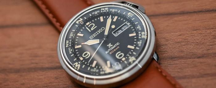 精工Prospex系列Automatic Field Compass SRPD31K1腕表------价格亲民的古代GPS