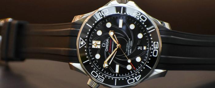 欧米茄海马Diver 300M詹姆斯•邦德'女王密使'特别版腕表------幼儿园小班出品?