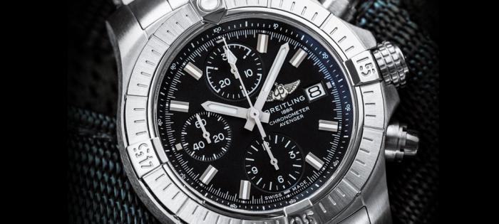 百年灵推出升级版复仇者系列:计时码表、GMT、瑞士空军特别版